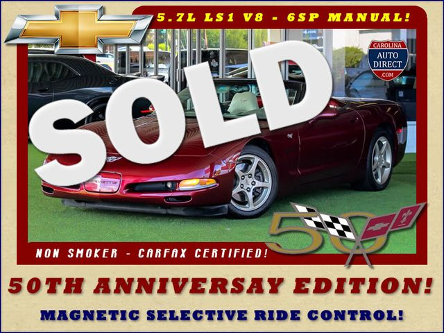 2003 Chevrolet Corvette 50TH ANNIVERSARY EDITION -  MAGNETIC RIDE CONTROL! Mooresville , NC
