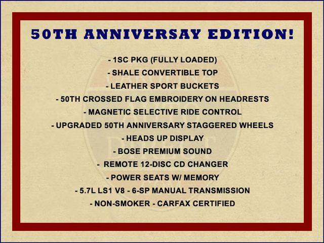 2003 Chevrolet Corvette 50TH ANNIVERSARY EDITION -  MAGNETIC RIDE CONTROL! Mooresville , NC 1
