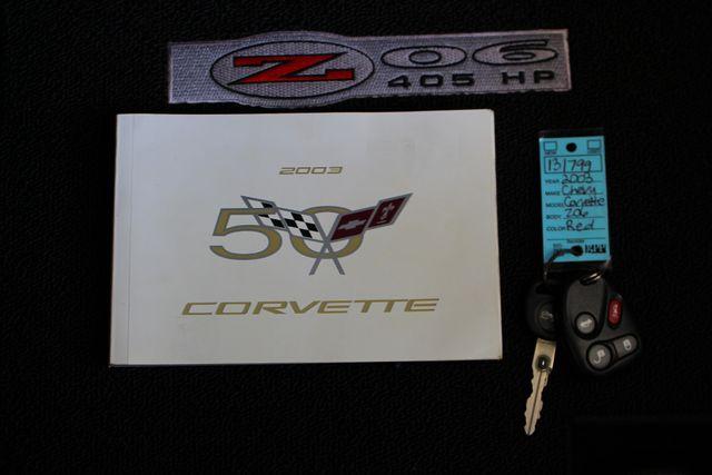 2003 Chevrolet Corvette Z06 MEMORY PKG- CORSA EXHAUST- HURST SHIFTER - VR! Mooresville , NC 18