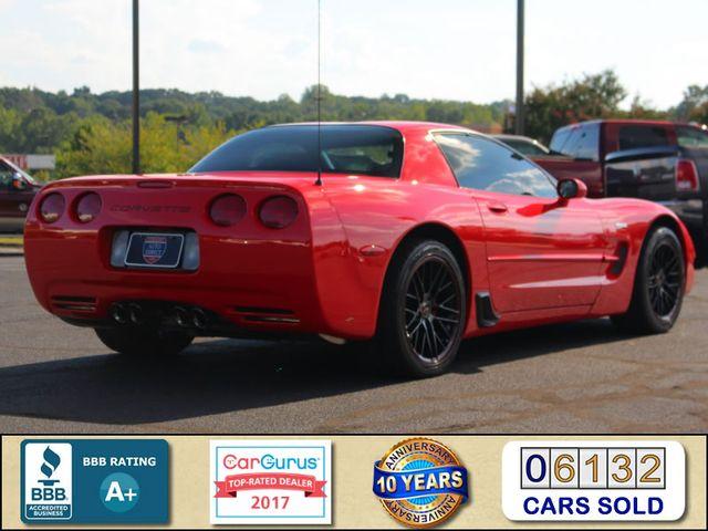2003 Chevrolet Corvette Z06 MEMORY PKG- CORSA EXHAUST- HURST SHIFTER - VR! Mooresville , NC 2