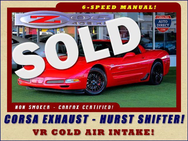 2003 Chevrolet Corvette Z06 MEMORY PKG- CORSA EXHAUST- HURST SHIFTER - VR! Mooresville , NC