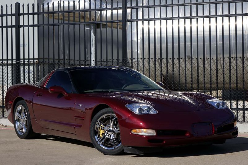 2003 Chevrolet Corvette Manual Targa Top Ez Finance Plano Tx