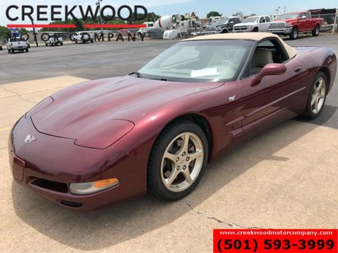 2003 Chevrolet Corvette Convertible Low Miles Chrome Automatic Leather in Searcy, AR