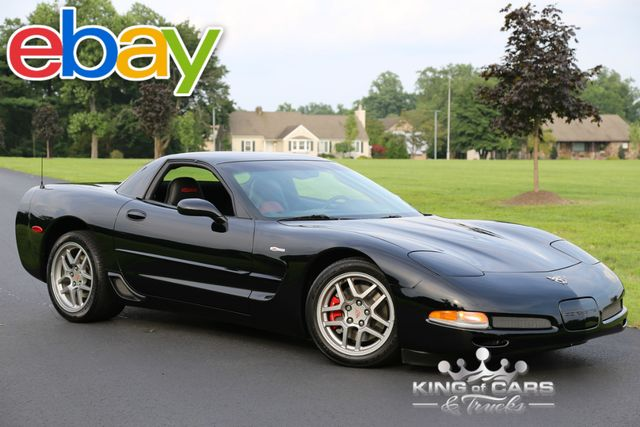2003 Chevrolet Corvette Z06 9K ACTUAL MILES 1-OWNER RED INTERIOR MINT PRISTINE MUST SEE