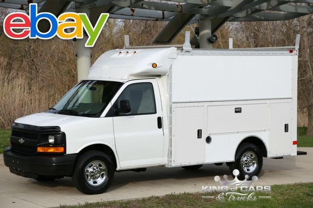 2003 Chevrolet Express 3500 SRW UTILITY SERVICE 59K MILES 1-OWNER