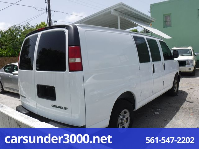 2003 Chevrolet Express Cargo Van Lake Worth , Florida 2