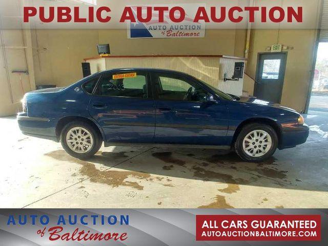 2003 Chevrolet Impala  | JOPPA, MD | Auto Auction of Baltimore  in Joppa MD