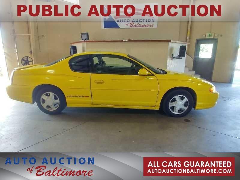2003 Chevrolet Monte Carlo SS   JOPPA, MD   Auto Auction of Baltimore  in JOPPA MD