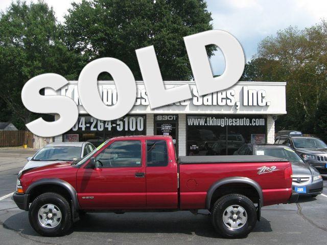 2003 Chevrolet S-10 4X4 LS Richmond, Virginia