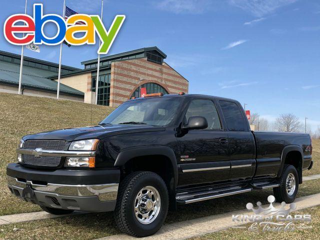 2003 Chevrolet Silverado 3500 15K ACTUAL MILES 6.6L DIESEL MANUAL 4X4 6-SPEED TIME CAPSULE