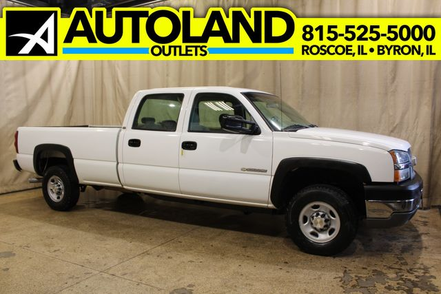 2003 Chevrolet Silverado 2500HD Manual 4x4 Long Bed