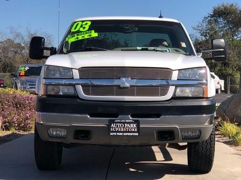 2003 Chevrolet Silverado 2500HD LT   San Luis Obispo, CA   Auto Park Sales & Service in San Luis Obispo, CA