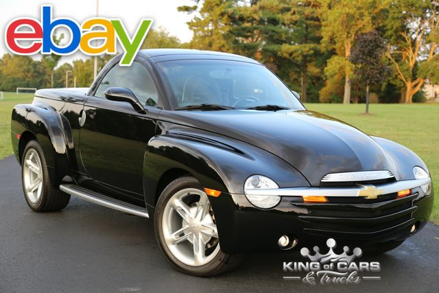 2003 Chevrolet Ssr CONVERTIBLE 5.3L V8 563 MILES LIKE NEW COLLECTOR
