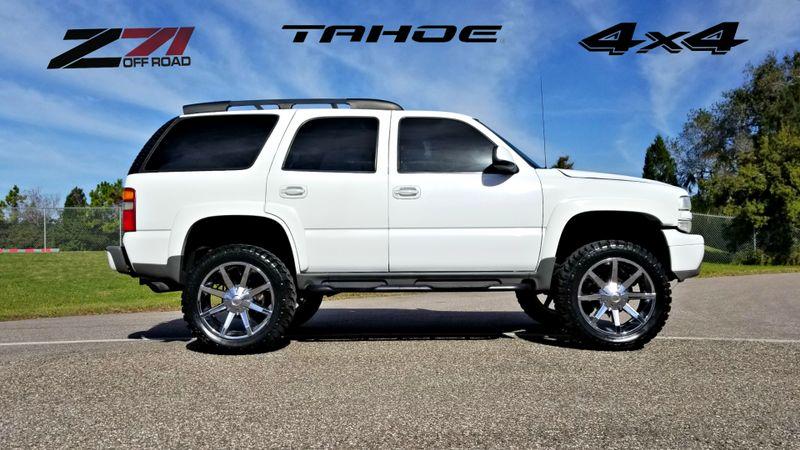 2003 Chevrolet Tahoe Z71 LIFTED 4X4 NEW 35s tires | Palmetto, FL | EA Motorsports in Palmetto, FL