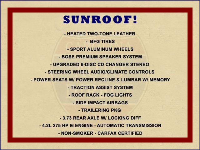 2003 Chevrolet TrailBlazer LTZ RWD - SUNROOF - HEATED LEATHER - BFG TIRES! Mooresville , NC 1