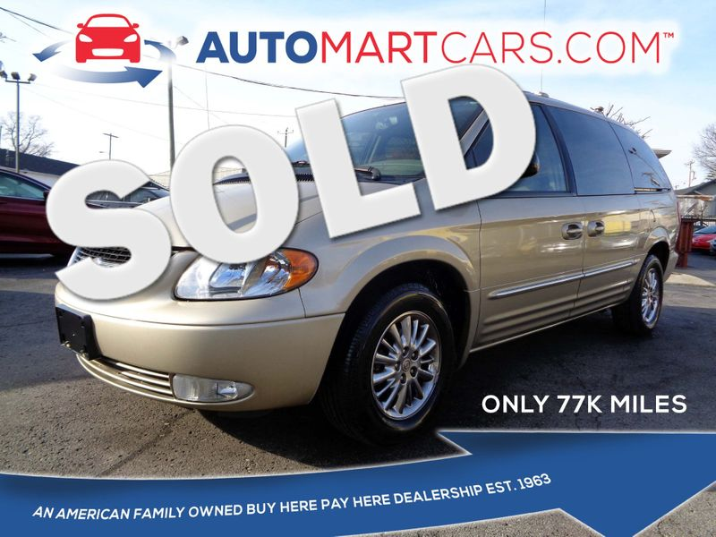 2003 Chrysler Town & Country Limited | Nashville, Tennessee | Auto Mart Used Cars Inc. in Nashville Tennessee