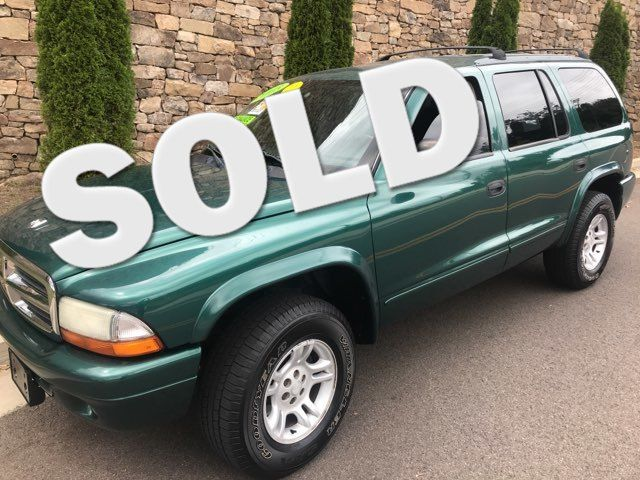 2003 Dodge-$2995!! Bhph!! 4x4-3rd Row! Durango-18 YRS IN BUSINESS!  SLT-CARMARTMARTSOUTH.COM Knoxville, Tennessee 0