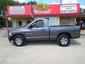 2003 Dodge Ram 1500 ST   Fort Worth, TX   Cornelius Motor Sales in Fort Worth TX