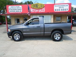 2003 Dodge Ram 1500 ST | Fort Worth, TX | Cornelius Motor Sales in Fort Worth TX