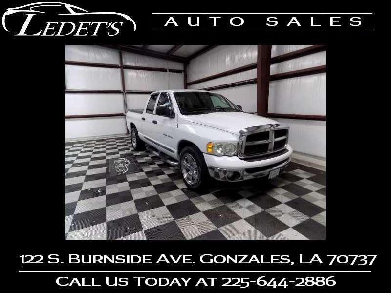 2003 Dodge Ram 1500 ST - Ledet's Auto Sales Gonzales_state_zip in Gonzales Louisiana