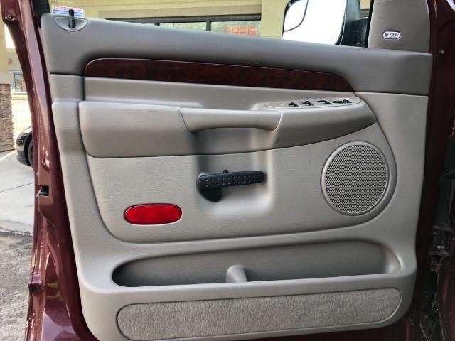 2003 Dodge Ram 2500 Laramie Quad Cab Short Bed 4WD LINDON, UT 13