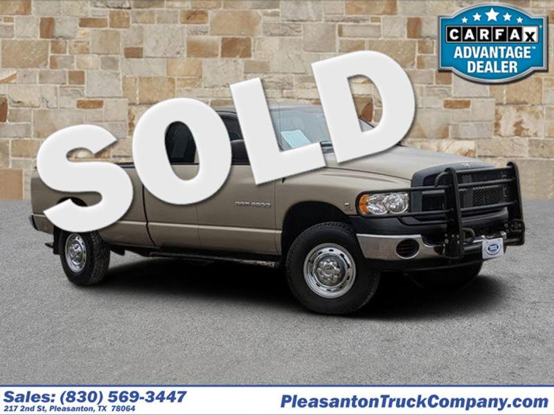 2003 Dodge Ram 2500 ST   Pleasanton, TX   Pleasanton Truck Company in Pleasanton TX