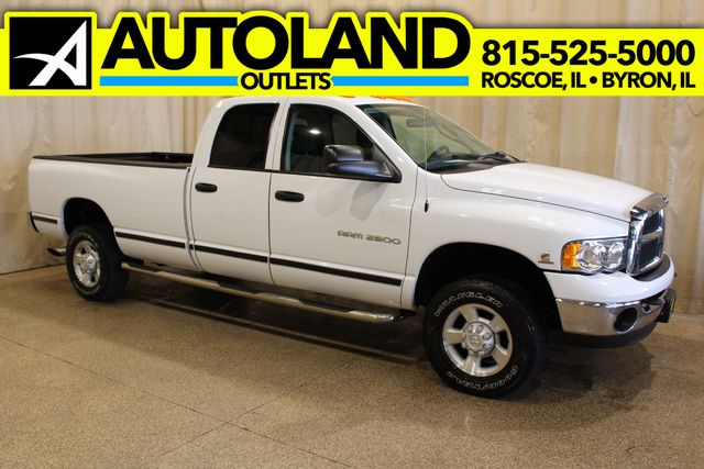 2003 Dodge Ram 2500 Diesel 4x4 Long box SLT
