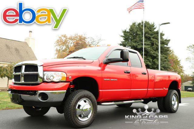 2003 Dodge Ram 3500 Slt DUALLY 5.9L DIESEL 6-SPEED 31K MILES 4X4 MINT in Woodbury, New Jersey 08096