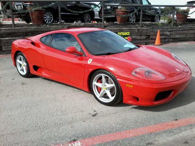 2003 Ferrari 360 Modena Berlinetta F1 Boerne, Texas 2