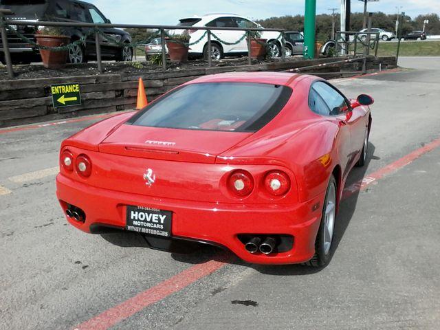 2003 Ferrari 360 Modena Berlinetta F1 Boerne, Texas 6