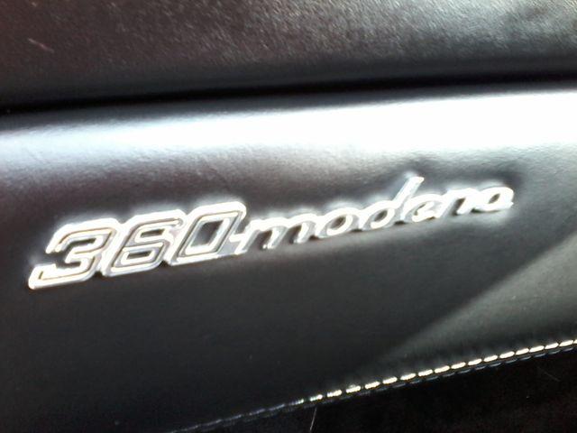 2003 Ferrari 360 Modena Berlinetta F1 Boerne, Texas 35