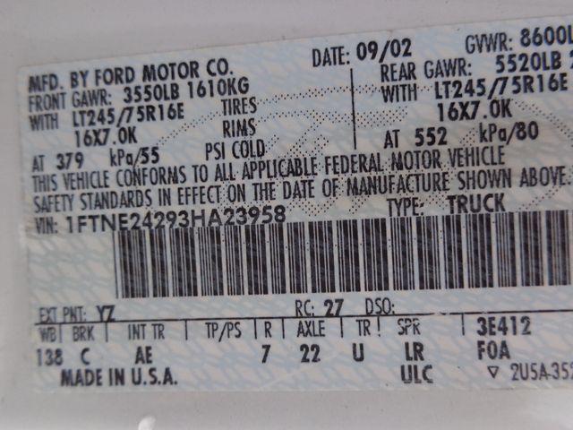 2003 Ford Econoline Cargo Van Hoosick Falls, New York 7