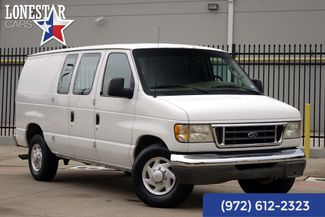 2003 Ford E350 Cargo Van XLT 7.3 Diesel One Owner Records in Plano Texas, 75093