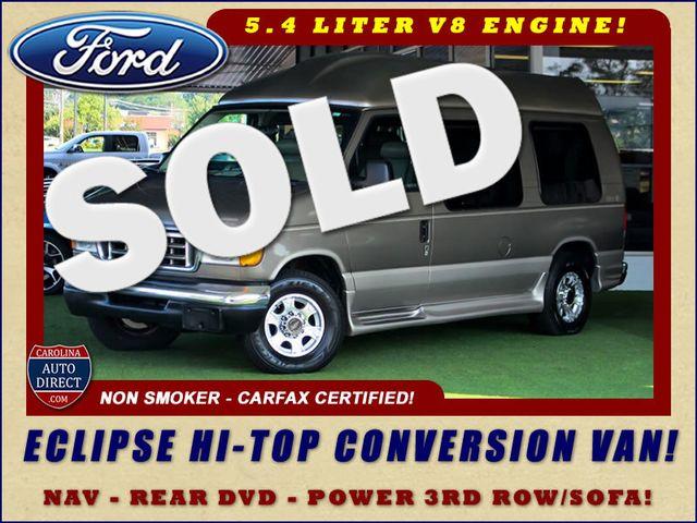2003 Ford Econoline E-250 Van Recreational - ECLIPSE HIGH TOP CONVERSION VAN! Mooresville , NC