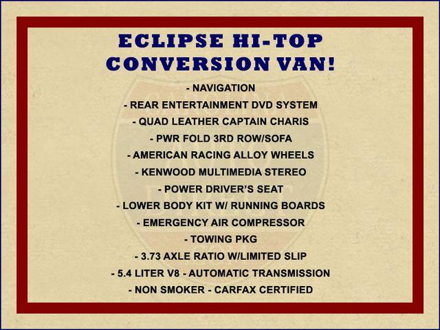 2003 Ford Econoline E-250 Van Recreational - ECLIPSE HIGH TOP CONVERSION VAN! Mooresville , NC 1