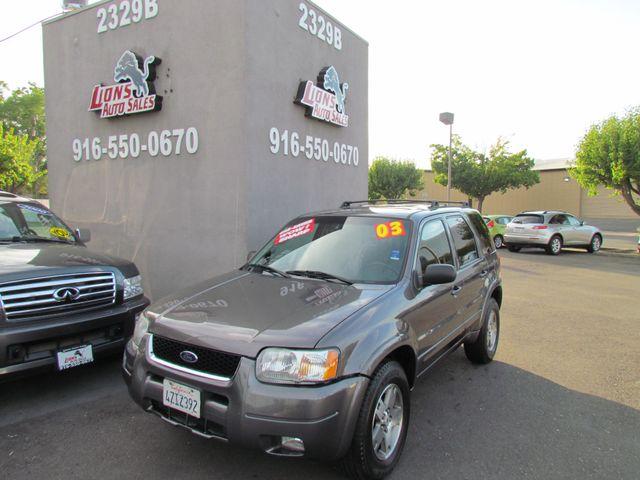 2003 Ford Escape Limited 4 x 4 in Sacramento CA, 95825