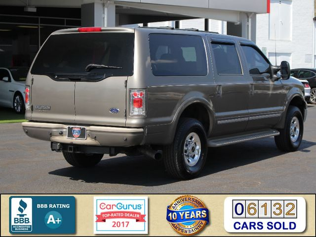 2003 Ford Excursion Limited 4X4 - SINISTER DIESEL - BRAND NEW TIRES Mooresville , NC 2
