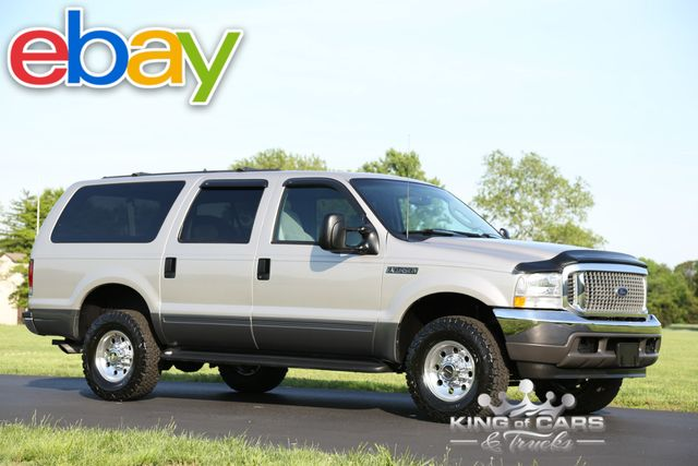 2003 Ford Excursion Xlt 7.3l DIESEL 31K ORIGINAL MILES 1OWNER 4X4 WOW