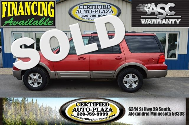 2003 Ford Expedition Eddie Bauer 4x4 in  Minnesota