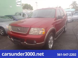2003 ford explorer eddie bauer transmission