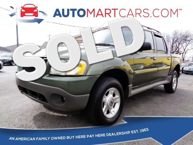 2003 Ford Explorer Sport Trac XLT   Nashville, Tennessee   Auto Mart Used Cars Inc. in Nashville Tennessee