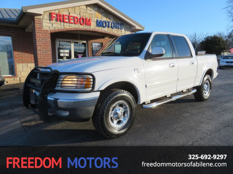 2003 Ford F-150 Lariat 4x4 | Abilene, Texas | Freedom Motors  in Abilene Texas