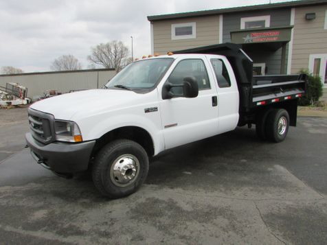 2003 Ford F-350 4x4 Ex-Cab W/ 9' Contractor Dump  in St Cloud, MN