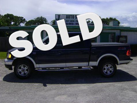 2003 Ford F150 4x4 SUPERCREW FX4 in Fort Pierce, FL