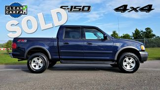 2003 Ford F-150 XLT 4 DOOR CLEAN CARFAX 4X4 FX4  | Palmetto, FL | EA Motorsports in Palmetto FL