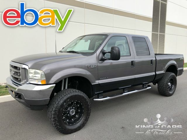 2003 Ford F250 Lariat Crew 7.3L DIESEL 77K MILES 1-OWNER LIFTED RUST FREE 4X4
