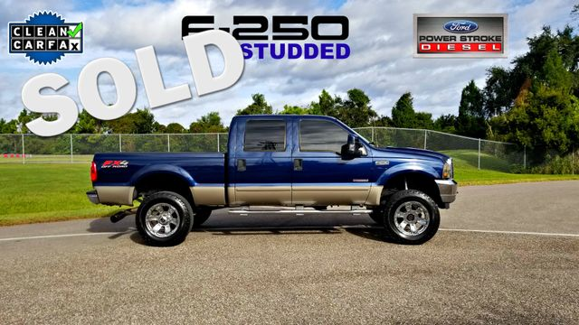 2003 Ford Super Duty F-250 Lariat STUDDED 6.0 LIFTED LOW MILES | Palmetto, FL | EA Motorsports in Palmetto FL