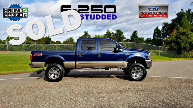 2003 Ford Super Duty F-250 Lariat STUDDED 6.0 LIFTED LOW MILES | Palmetto, FL | EA Motorsports in Palmetto FL