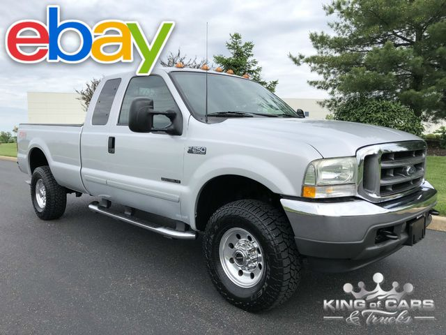 2003 Ford F250 Supercab Xlt 7.3L DIESEL LOW MILES 1-OWNER FX4 4X4
