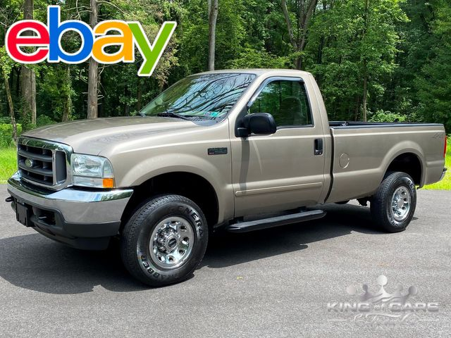 2003 Ford F250 Xlt Reg Cab LONG BED GAS 4X4 2-OWNER ONLY 66K MILE